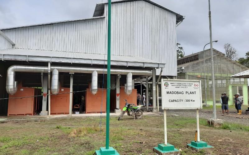 PLTBm bertenaga bambu di Desa Madobag - Istimewa
