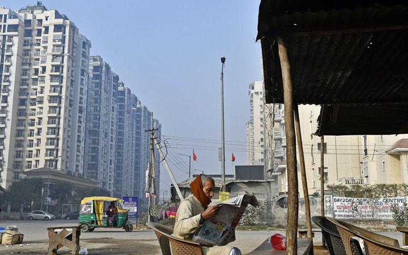 Wajah properti di India./Bloomberg - Anindito Mukherjee