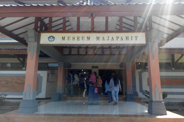 Pintu masuk Museum Majapahit. - Bisnis.com