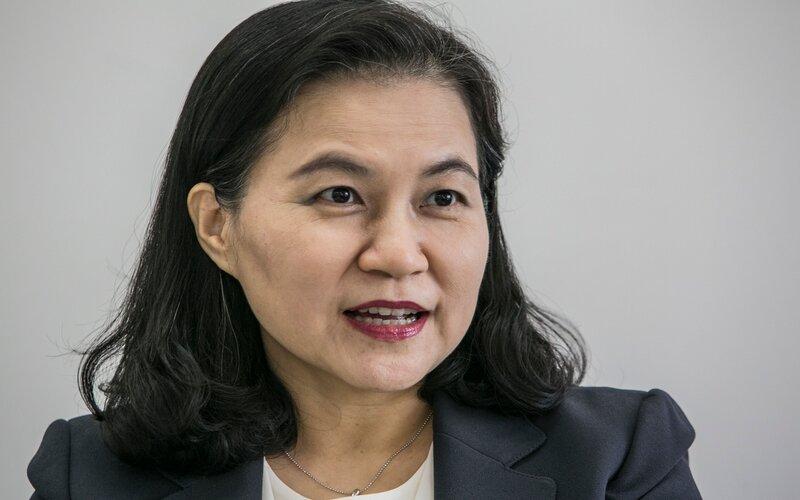Menteri Perdagangan Korea Selatan Yoo Myung-hee yang menjadi salah satu kandidat Dirjen WTO - Bloomberg
