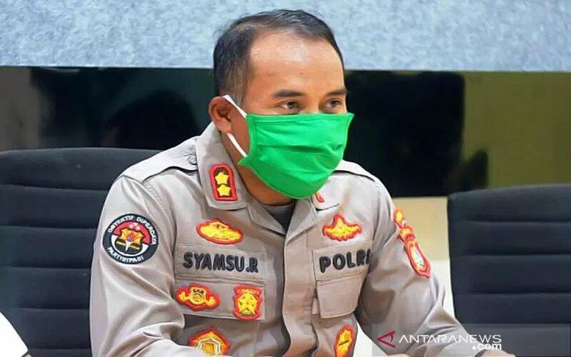 Kabid Humas Polda Sulbar AKBP Syamsu Ridwan. - Antara/Polda Sulbar