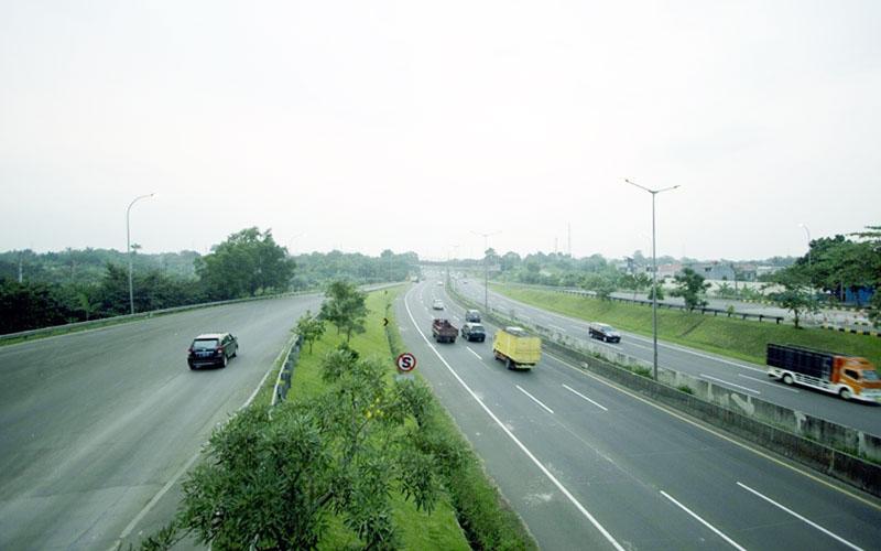 Ilustrasi: Jalan tol Pondok Aren-Serpong di Banten. - Isatimewa/NusantaraInfrastructure.com