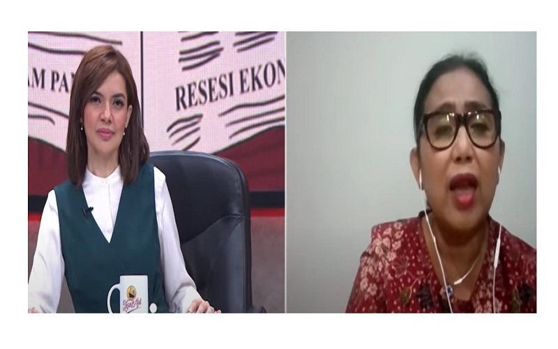 Politikus Partai Nasdem Irma Suryani Chaniago di acara Mata Najwa  -  Sumber: Tangkapan Layar Mata Najwa