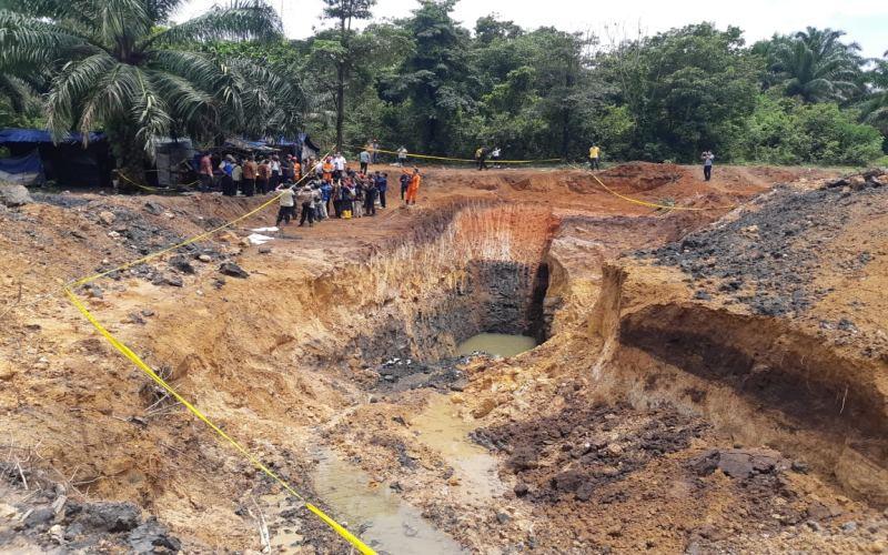 Tambang batu bara ilegal