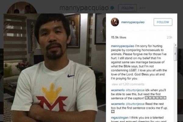 Manny Pacquiao - Instagram