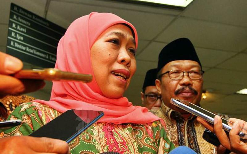 Gubernur Jawa Timur Khofifah Indar Parawansa. - Bisnis/Wahyu Darmawan