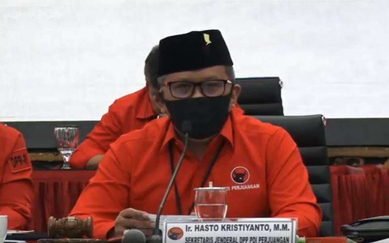 Sekjen PDIP Hasto Kristiyanto. JIBI - Bisnis/Nancy Junita