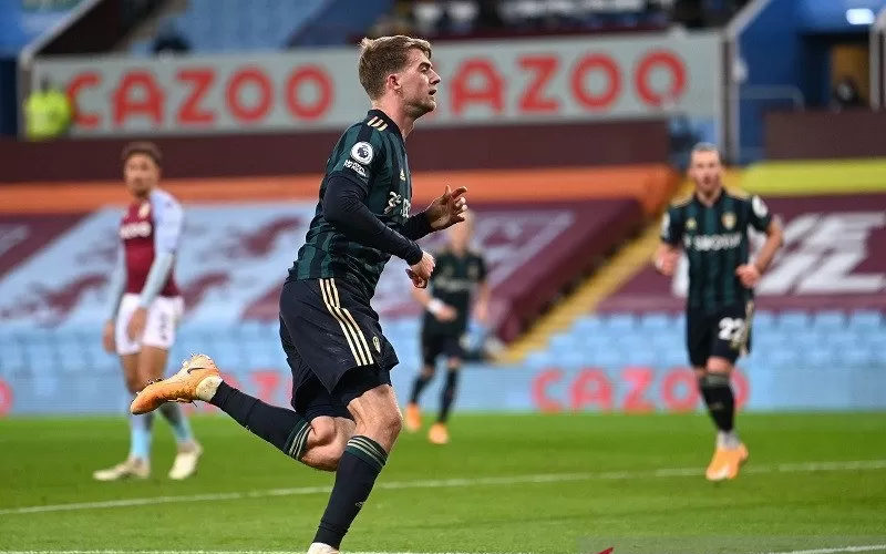 Penyerang Leeds United Patrick Bamford  - Antara