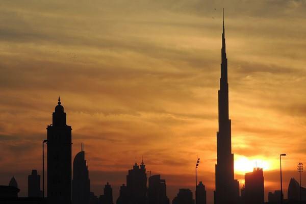 Burj Khalifa di Dubai - Reuters