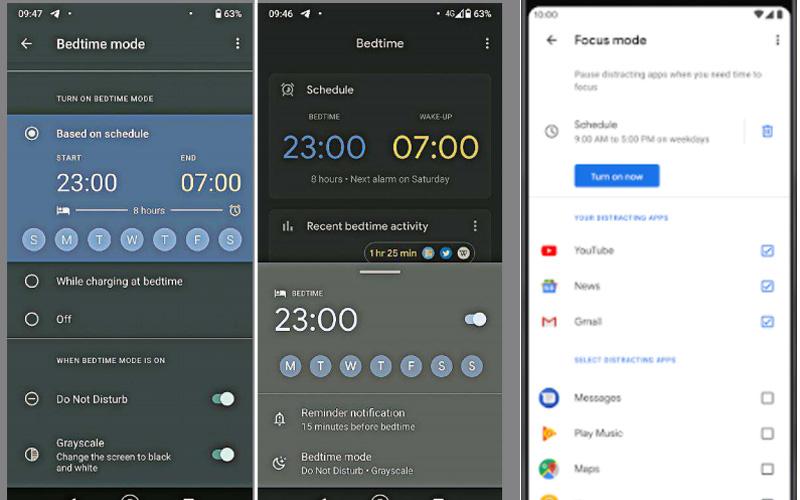 Aplikasi Digital Wellbeing dari Google untuk ponsel Android