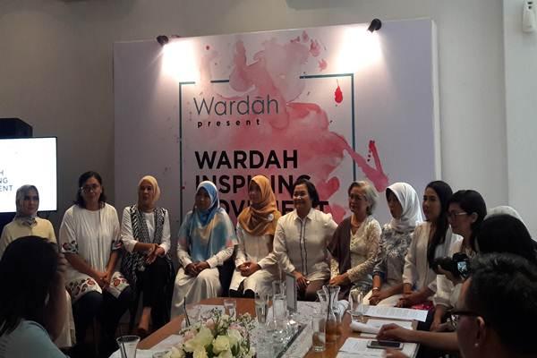 Wardah Inspiring Movement, Senin (15/5/2017) - Bisnis.com/ Ramdha Mawadha