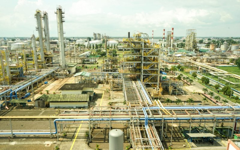 Kilang Plaju PT Pertamina (Persero) Refinery Unit III Palembang. - Istimewa