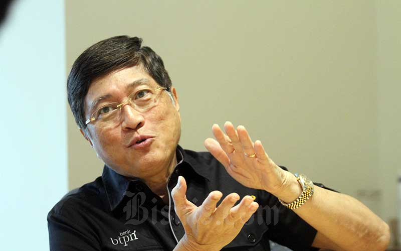 President & CEO PT Bank BTPN Tbk. Ongki Wanadjati Dana. Bisnis - Dedi Gunawan