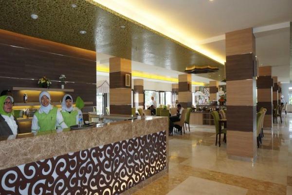 Hotel syariah sebagai salah satu penunjang wisata ramah muslim atau wisata halal di Indonesia  -  ilustrasi