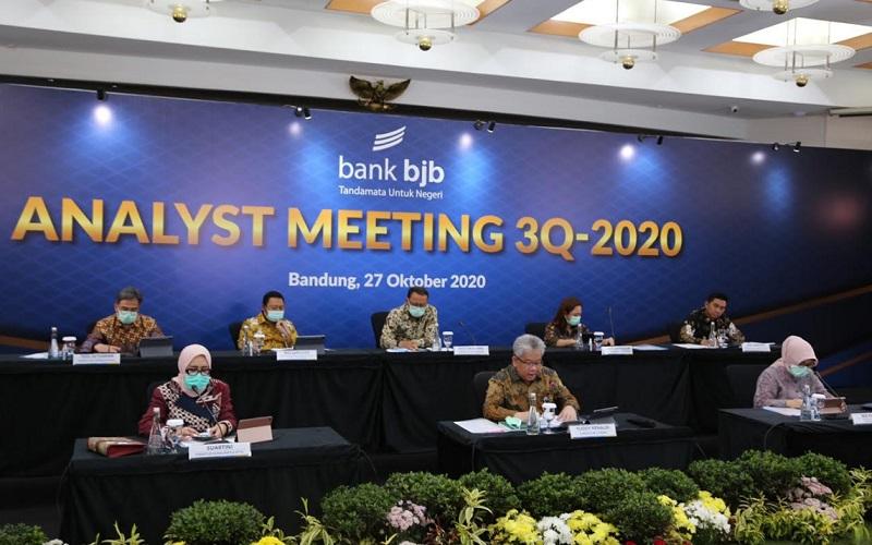Analyst Meeting Triwulan III 2020 Bank BJB