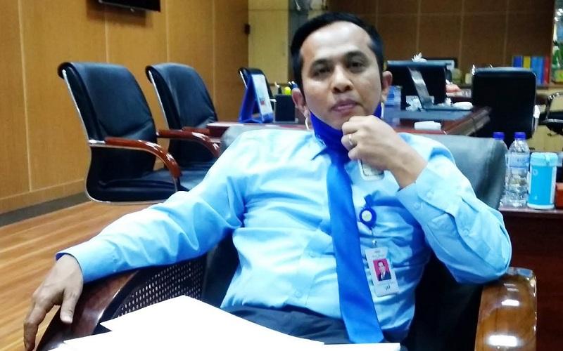 Direktur Kredit dan Syariah Bank Nagari Gusti Candra - Bisnis/Noli Hendra