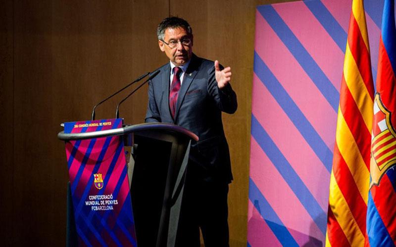 Presiden FC Barcelona Josep Maria Bartomeu. - FCBarcelona.com
