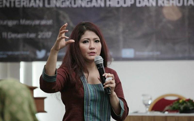Dyah Kartika Rini. - facebook Kementerian Lingkungan Hidup & Kehutanan