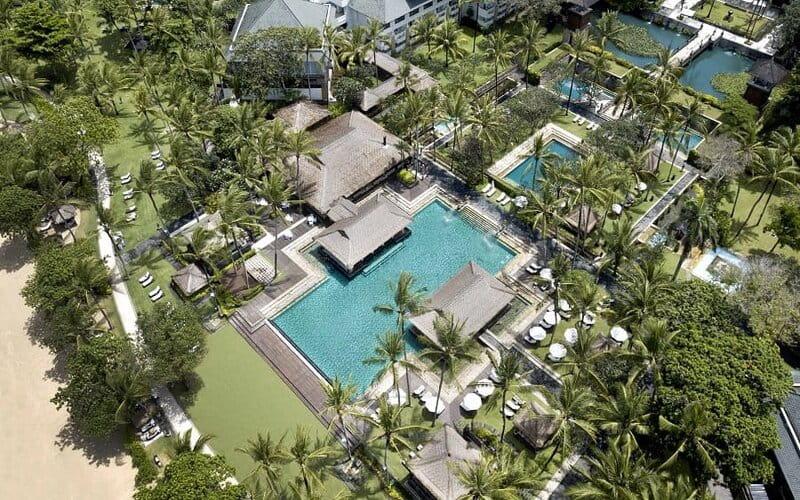 Kawasan InterContinental Bali Resort.