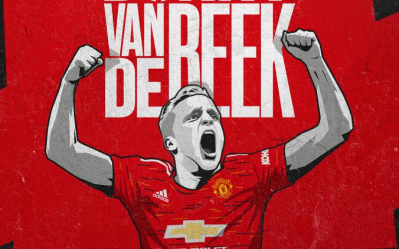 Donny Van de Beek - Twitter MU
