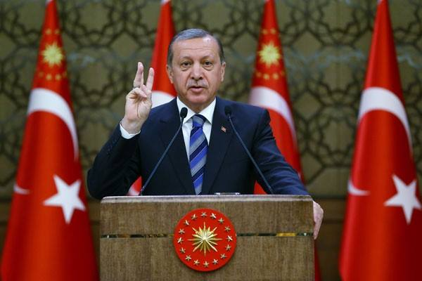 Presiden Turki Tayyip Erdogan - Reuters