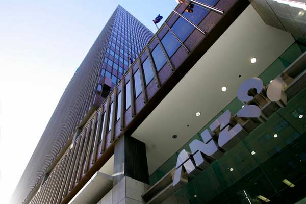 Bank ANZ.  - Bloomberg