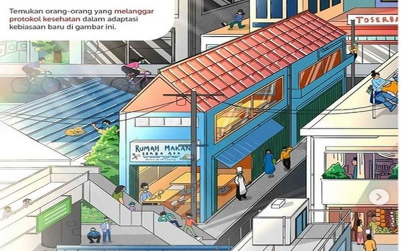Presiden Joko Widodo mengunggah foto adaptasi kebiasaan baru di tengah pandemi Covid-19. - Instagram @jokowi