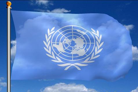 Ilustrasi bendera Perserikatan Bangsa-Bangsa (PBB) - Istimewa