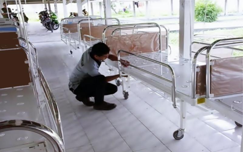 Sarandi KN. Selain menangkap peluang pasar domestik, manufaktur yang berbasis di Sukabumi ini telah mengekspor produknya. Sarandi juga memasok World Health Organization (WHO) untuk didistribusikan ke beberapa negara di Asia dan Afrika.  - Sarandi KN