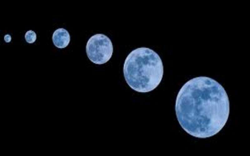 Bulan purnama biru