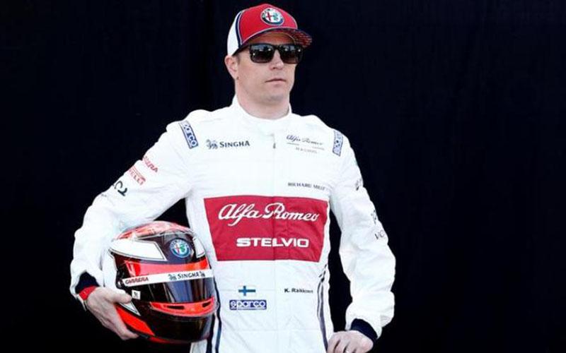 Pebalap F1 asal Finlandia Kimi Raikkonen  -  Essentially Sports