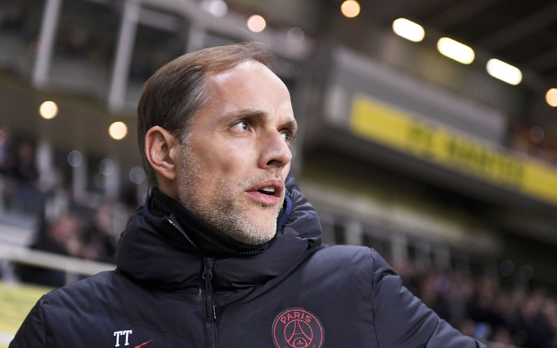 Pelatih Paris Saint-Germain Thomas Tuchel  -  Ligue1.com