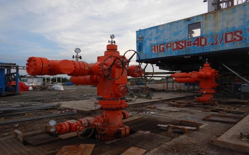 Rig PDSI yang digunakan oleh Pertamina EP Cepu dalam proyek strategis nasional Jambaran Tiung Biru, Blok Cepu. Istimewa - Pertamina