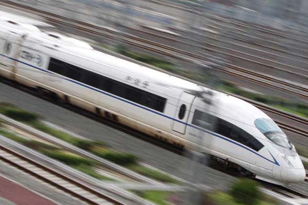 Ilustrasi-Kereta cepat China - Reuters/Jason Lee