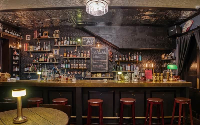 Ilustrasi Bar