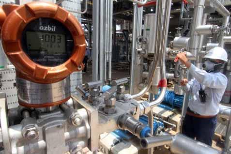 Pabrik Chandra Asri Cilegon. Nilai investasi di sektor industri kimia tercatat Rp6,04 triliun hingga kuartal II/2020.  - Antara