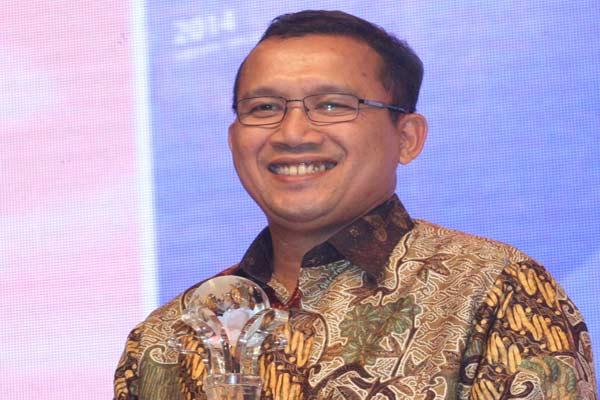 Direktur Keuangan PT Bank Rakyat Indonesia Tbk Haru Koesmahargyo.  - Bisnis.com