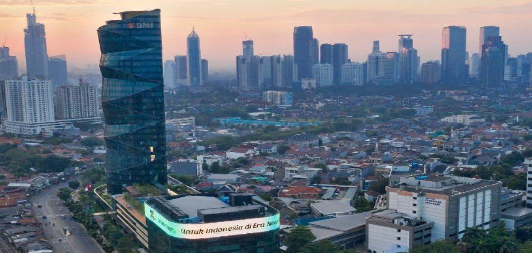 Ilustrasi Gedung BNI di Jakarta, 2020 - dokumen BNI
