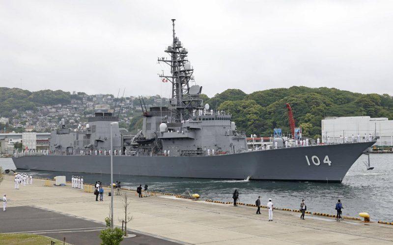 Salah satu kapal perusak milik Jepang. - Istimewa/Kyodo