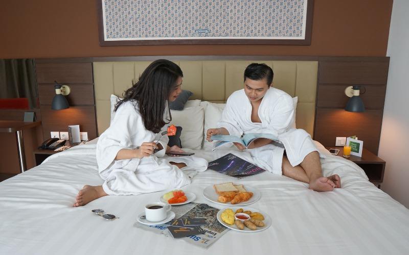Hotel Horison Nindya Semarang menawarkan promo staycation dengan harga mulai Rp400.000 per malam, sudah termasuk sarapan untuk dua orang. (Foto: Istimewa)