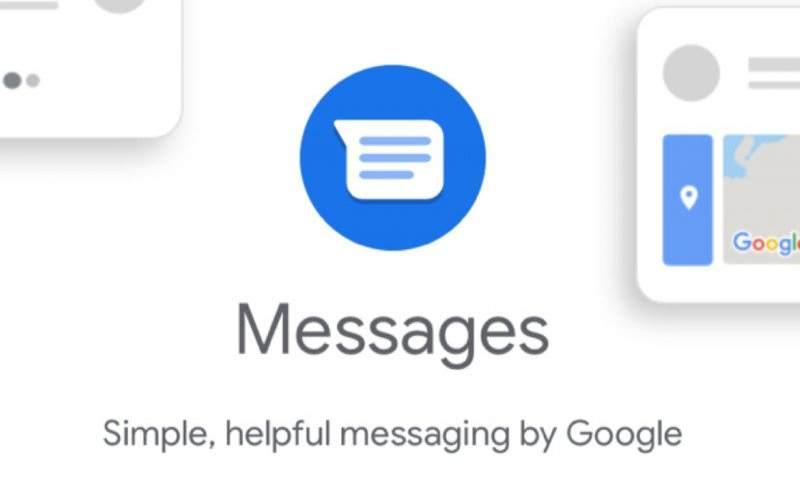 Ilustrasi aplikasi Pesan Google (messages.google.com)