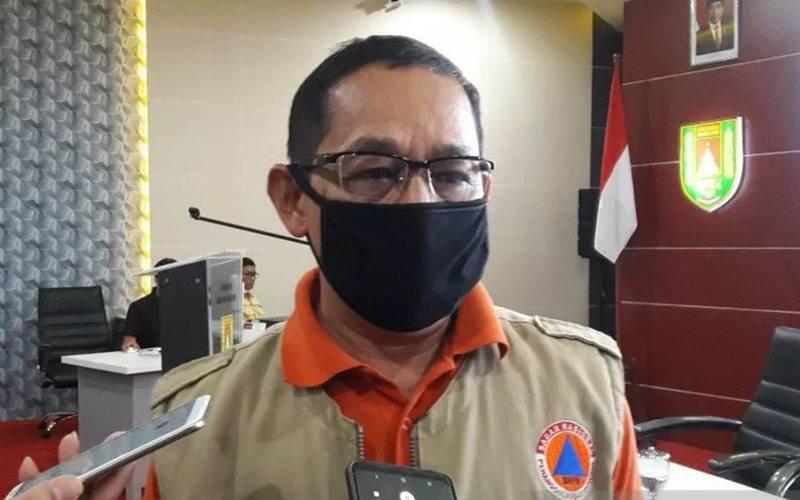 Kepala Pelaksana Badan Penanggulangan Bencana Daerah Kabupaten Magelang, Edy Susanto. - Antara