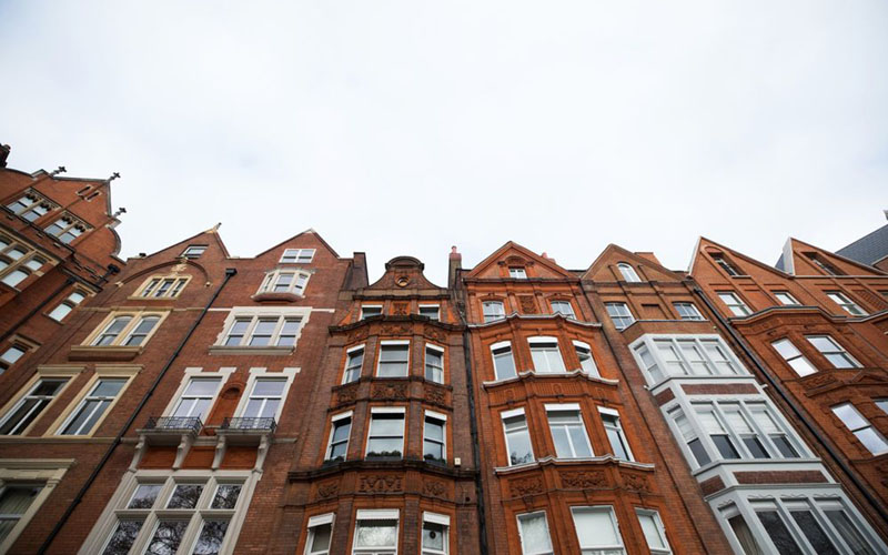 Residensial vertikal di Chelsea, London./Chris Ratcliffe - Bloomberg