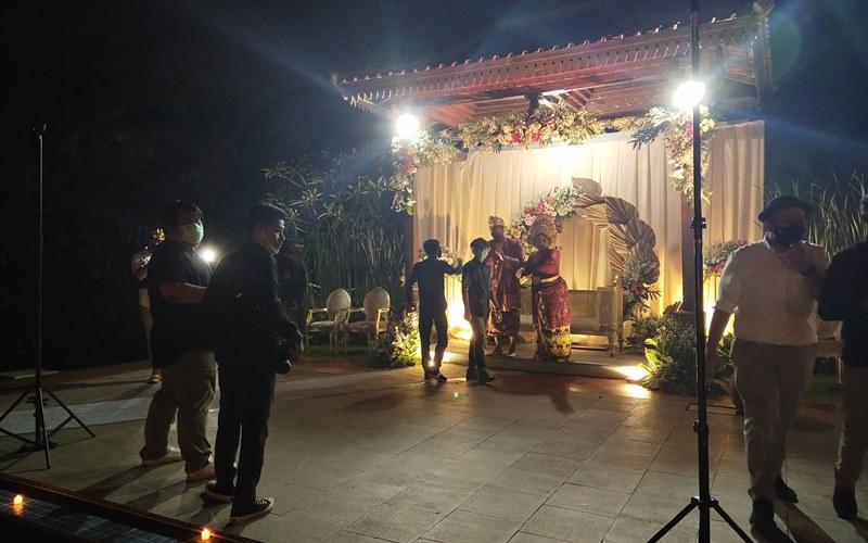 Resepsi pernikahan new normal - Bisnis/Andhika