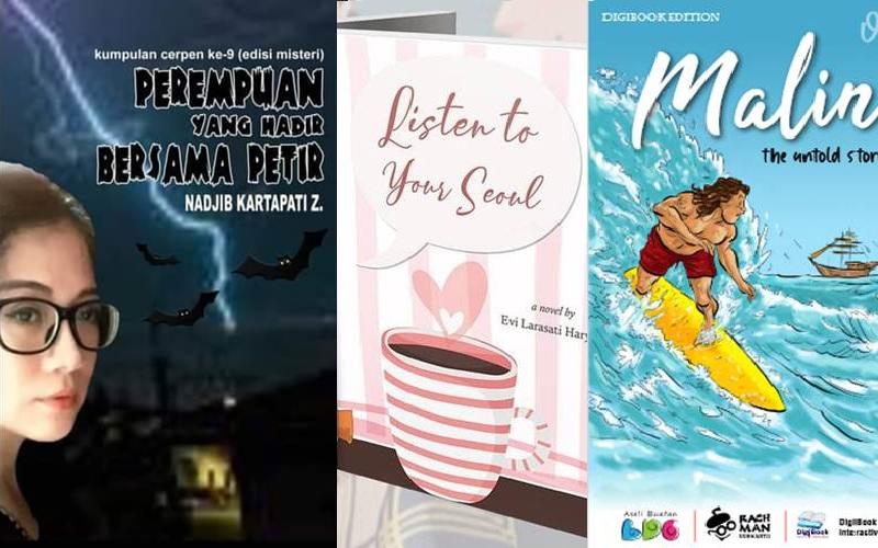 Cover buku yang diterbitkan secara indie atau penerbitan mandiri dan buku digital - Bisnis/Sae