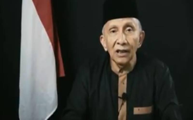 Mantan Ketua MPR Amien Rais - Youtube