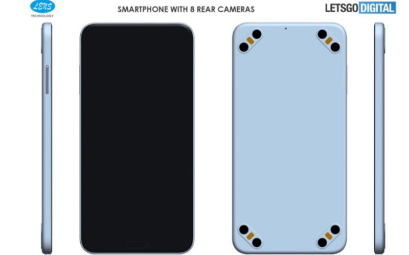 Lens Technology memproduksi HP dengan 8 kamera belakang. - Dok. Istimewa