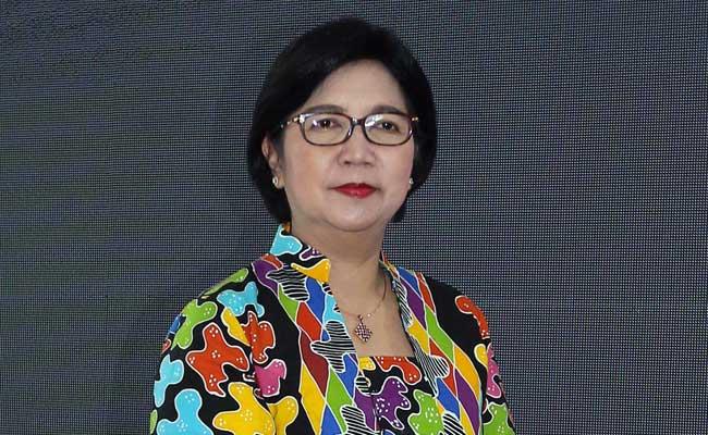 Deputi Gubernur Senior Bank Indonesia (BI) Destry Damayanti. Bisnis - Abdullah Azzam