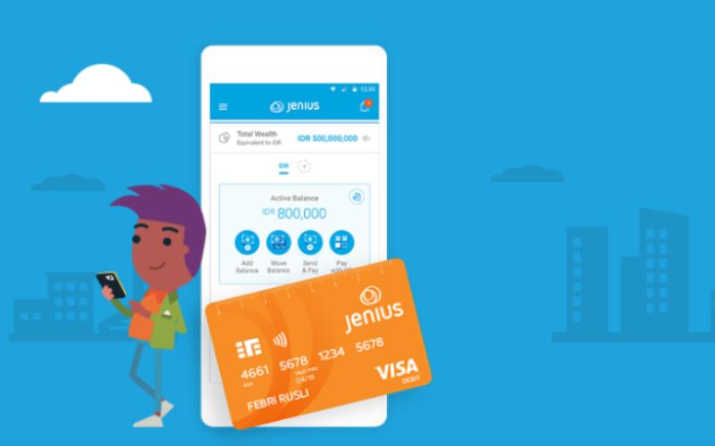 Aplikasi dan Kartu Jenius - jenius.com