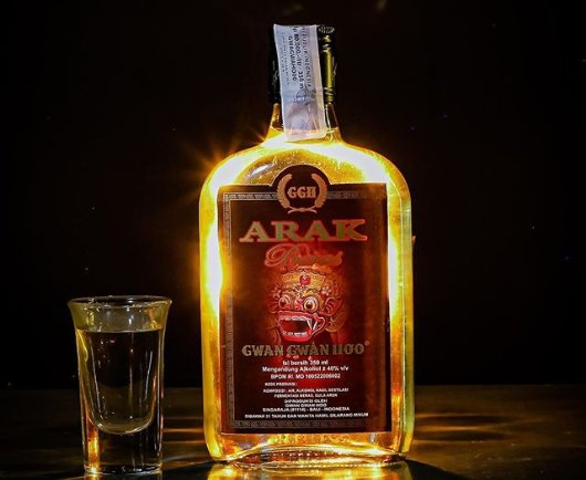 Arak Bali. - Instagram GGH Official